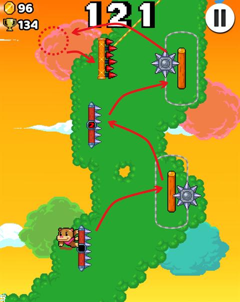 Wall Kickers~ゲーム画面17
