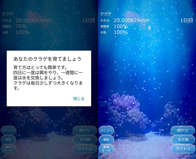 動物育成ゲームアプリ画面17-1