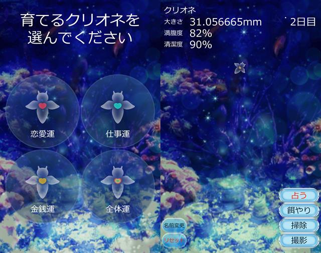 動物育成ゲームアプリ画面22-1