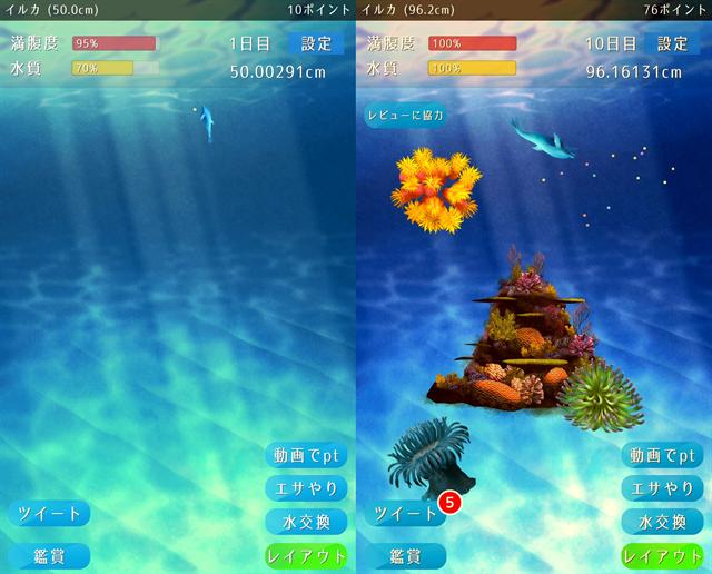 動物育成ゲームアプリ画面24-1