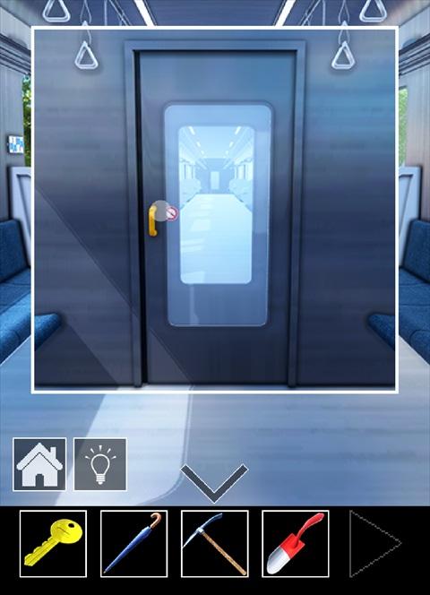 電車のある道~ゲーム画面3