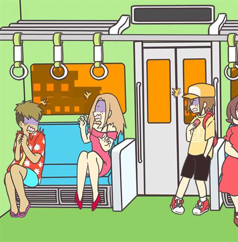 電車で絶対座るマン~画面14