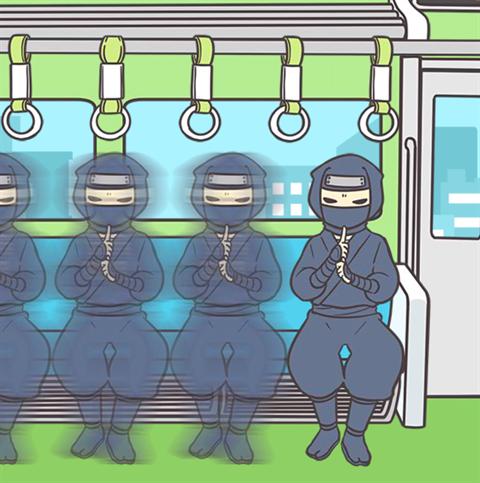 電車で絶対座るマン~画面16