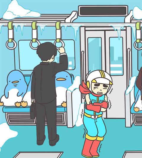 電車で絶対座るマン~画面17