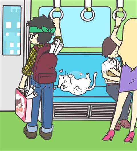 電車で絶対座るマン~画面18