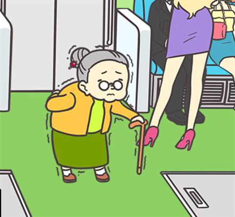 電車で絶対座るマン~画面8