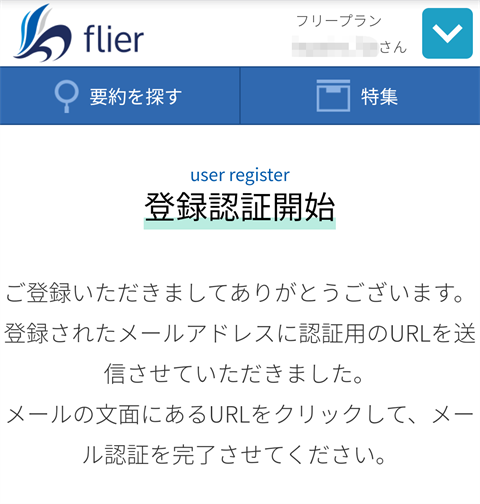 flier画面~フライヤーレビュー19
