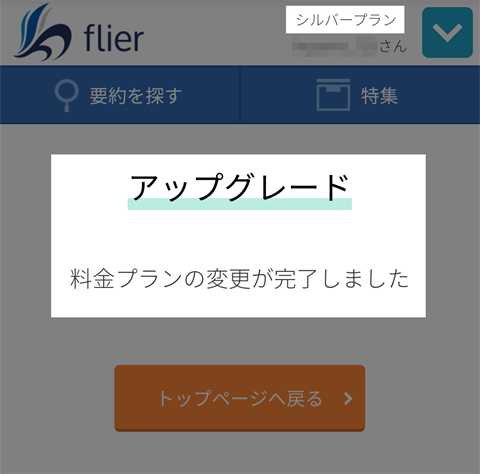 flier画面~フライヤーレビュー25