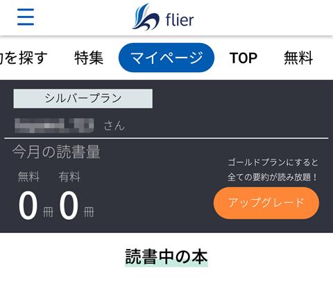 flier画面~フライヤーレビュー26