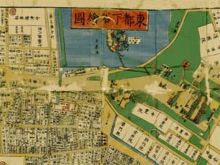 古地図アプリの画面